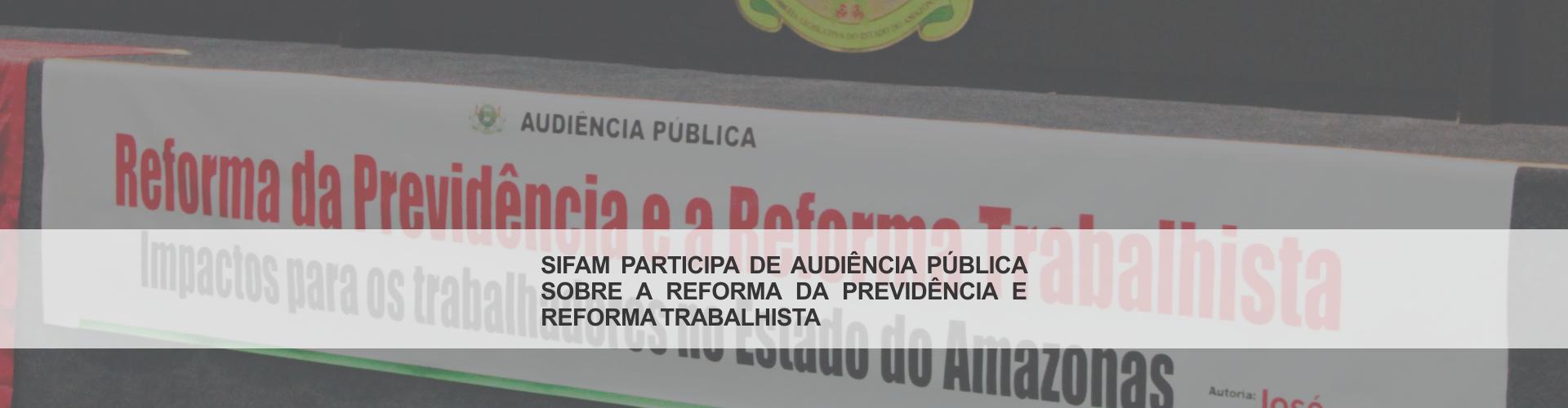 Audiência Pública – ALEAM